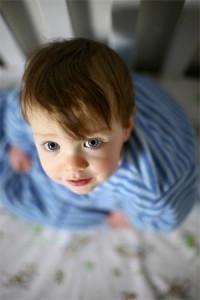 تصویر کودک از بالا