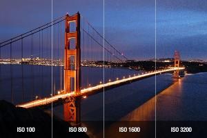 کیفیت عکس و حساسیت ISO